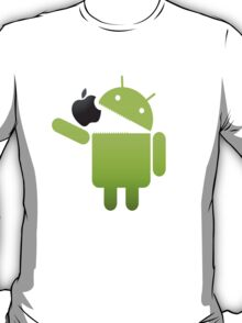 Android eat apple T-Shirt
