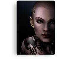Mass Effect - Jack Canvas Print