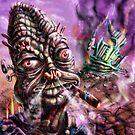 Alien Test Pilot by Matt Bissett-Johnson