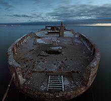 Shipwreck (SS Palo Alto).  by Rafal Antoniuk