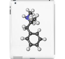 breaking bad Methamphetamine molecule B iPad Case/Skin