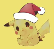 Merry Christmas Pikachu by everlander