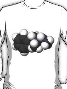 breaking bad Methamphetamine molecule C T-Shirt