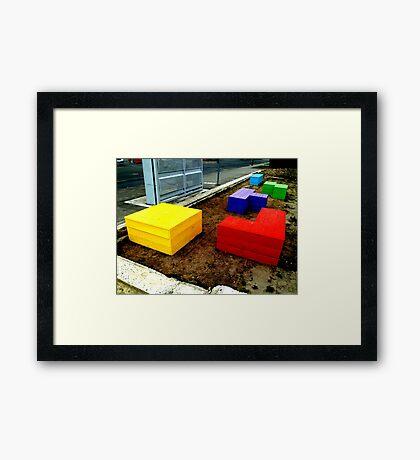 Tetris 2013  Framed Print