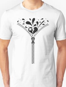 Zipper_Heart Unisex T-Shirt