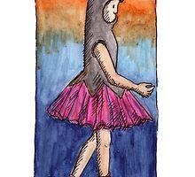 KMAY Hoodkid Bunny Ballerina by Katherine May