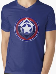 Compassion America Mens V-Neck T-Shirt
