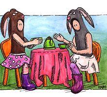 KMAY Hoodkid Bunny Tea by Katherine May