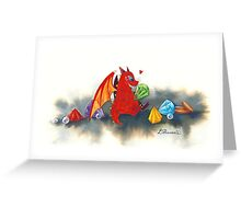 The dragon's collection Greeting Card