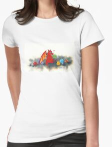 The dragon's collection Womens Fitted T-Shirt