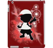 Super Smash Bros. White Ness Silhouette iPad Case/Skin