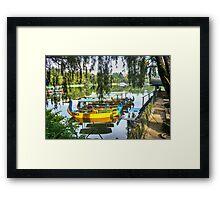 Burnham Park  Framed Print
