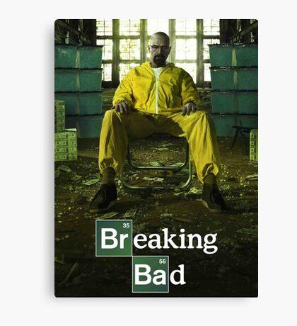 Breaking Bad TV Series Canvas Print
