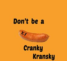 Cranky Kransky Womens Fitted T-Shirt