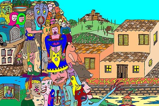 Tuscany intruders by David Fraser