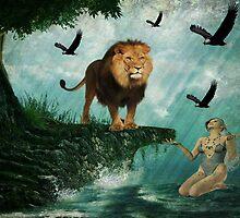 Lion Goddess by Vicki Childs