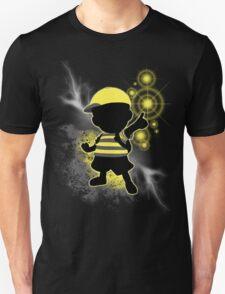 Super Smash Bros. Yellow/Black Ness Sihouette T-Shirt