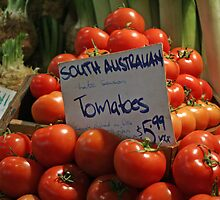 Tomatoes by Tessa Manning
