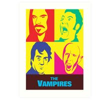 what we do in the shadows the vampires Art Print