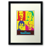 what we do in the shadows the vampires Framed Print