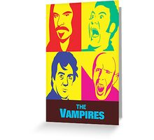 what we do in the shadows the vampires Greeting Card