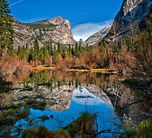 Mirror Lake - Horizontal by Cat Connor