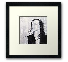 Steve Perry, Journey painting by William Wright Framed Print