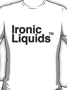 Ironic LIquids Logo Tee T-Shirt