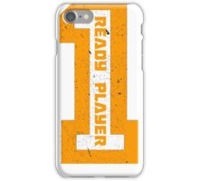 Ready Player One Number Orange iPhone Case/Skin