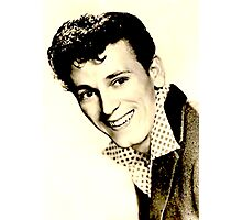 sweet GENE VINCENT Photographic Print