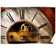 Clockmaker - What time is it Poster