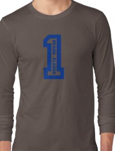Ready Player One Number Blue Long Sleeve T-Shirt
