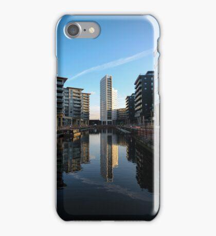 Clarence Dock Golden Hour iPhone Case/Skin