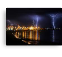 Fremantle Port Thunderstorm  Canvas Print