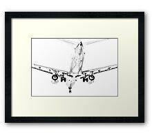 Boeing 737 on Landing Framed Print