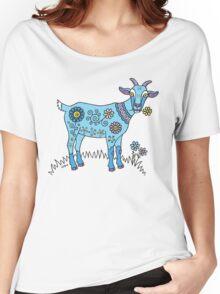 Blue Goat Women's Relaxed Fit T-Shirt