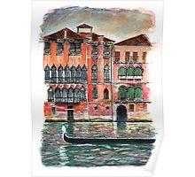 Venice Arabesque Poster