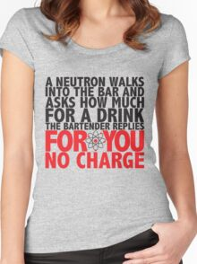 Neutron Women's Fitted Scoop T-Shirt