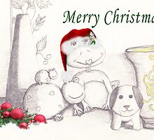 A Froggy Christmas and Friends by kcowles