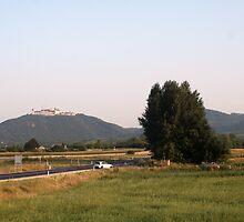 A castle near Vienna Wachau Austria by Ilan Cohen