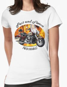 Kawasaki Nomad Fast And Fierce Womens Fitted T-Shirt