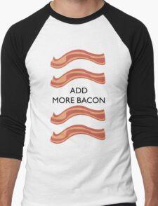 Add more bacon Men's Baseball ¾ T-Shirt