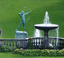 Fountain at Potsdam, Berlin by SoulSparrow
