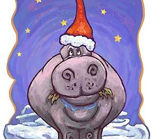 Hippopotamus Christmas by ImagineThatNYC