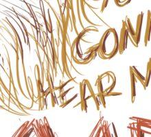 ROAR [Katy Perry lyrics] Sticker