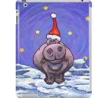 Hippopotamus Christmas iPad Case/Skin
