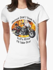 Kawasaki Nomad Heaven Don't Want Me Womens Fitted T-Shirt