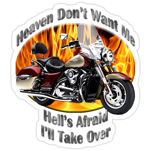 Kawasaki Nomad Heaven Don't Want Me by hotcarshirts