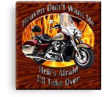Kawasaki Nomad Heaven Don't Want Me Canvas Print