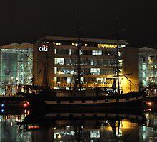 Jeanie Johnston Tall Ship by Declan Carr